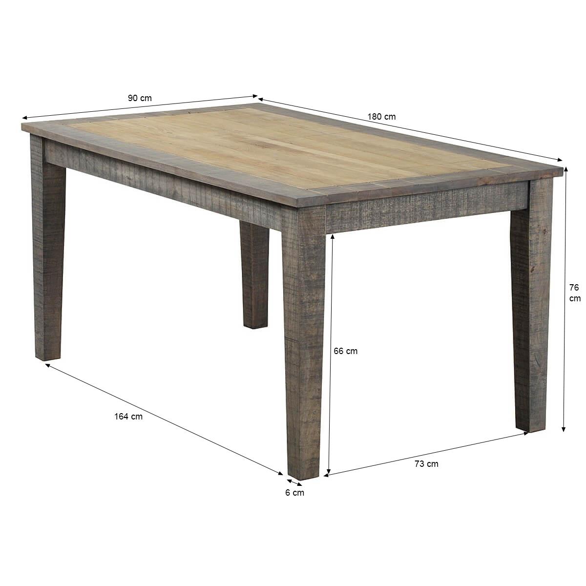 esstisch taarbek 180x90 aus massivholz in beige braun. Black Bedroom Furniture Sets. Home Design Ideas