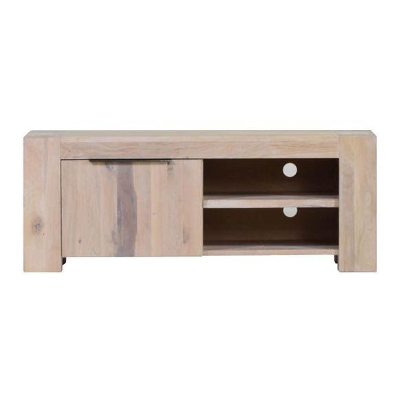TV Lowboard Granby in Eiche White Wash 130 cm – Bild 8