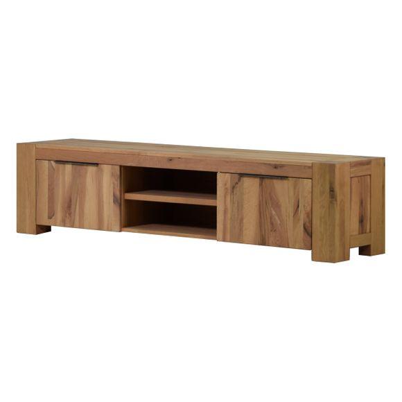TV Lowboard Granby in Eiche Natur 210 cm – Bild 1