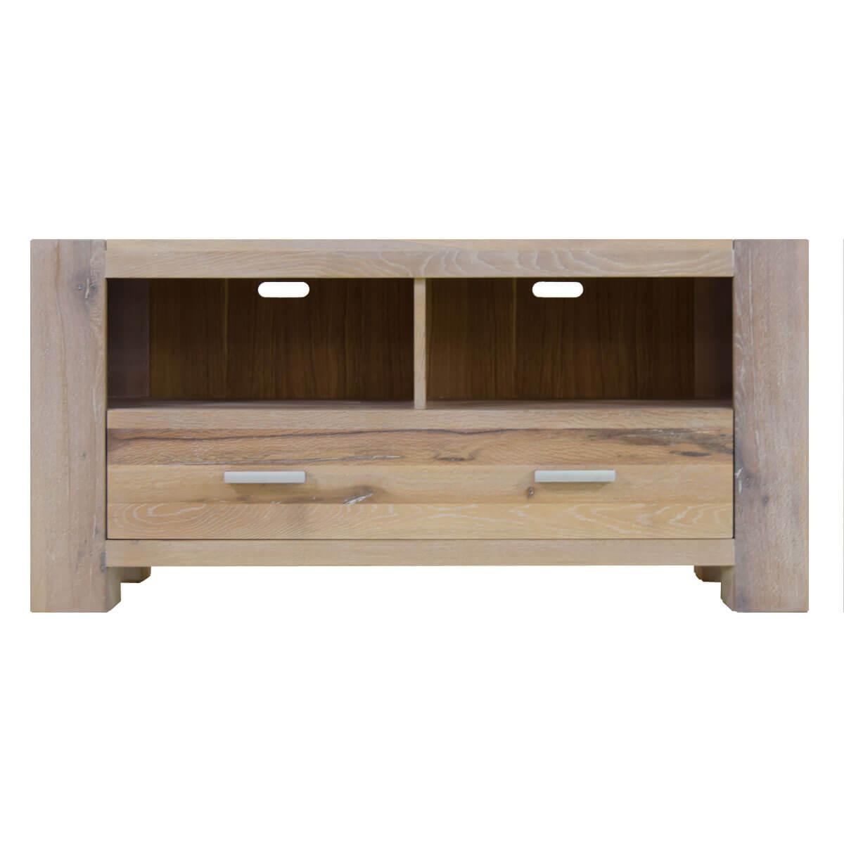 tv lowboard in eiche tv board massiv wei massivm bel. Black Bedroom Furniture Sets. Home Design Ideas
