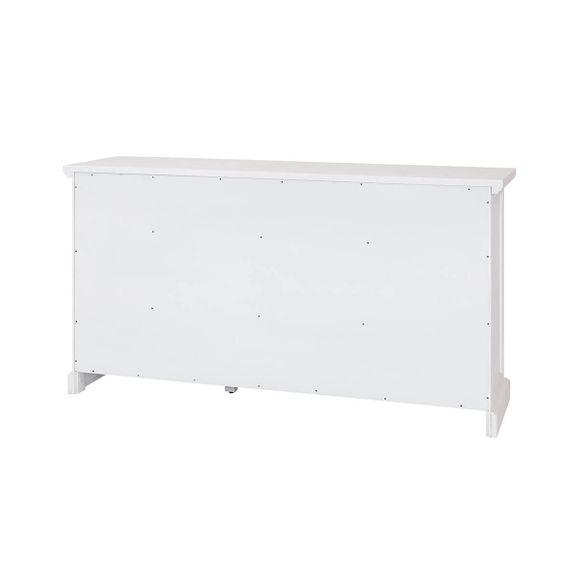 Sideboard Lale in Weiß Braun 166cm Breit Akazie Massiv – Bild 9