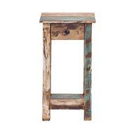 Beistelltisch LARGO 40 x 40 cm aus Massivholz im Vintage Look – Bild 4