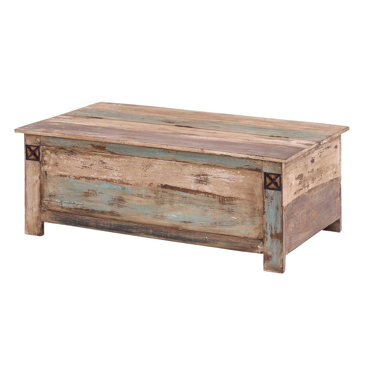 couchtisch truhe massivholz largo 115 x 67 cm aus. Black Bedroom Furniture Sets. Home Design Ideas