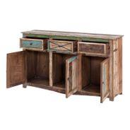 Sideboard Largo 150cm Breit aus Massivholz im Vintage Look – Bild 3