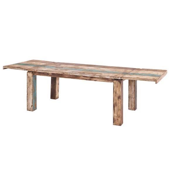 Esstisch Largo 200-300 cm aus Massivholz im Vintage Look – Bild 3