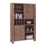 Highboard Avora 115cm Breit in Braun Akazie Massiv – Bild 1