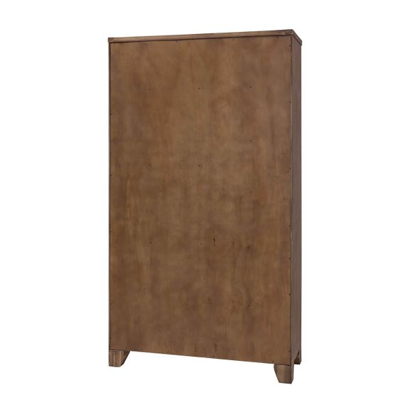 Highboard Avora 110cm Breit in Braun Akazie Massiv – Bild 7