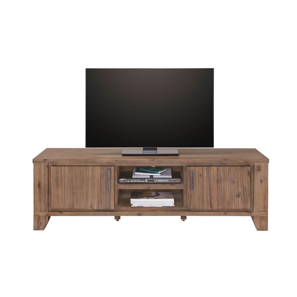 tv lowboard braun massiv 160x50 fernsehschrank board. Black Bedroom Furniture Sets. Home Design Ideas