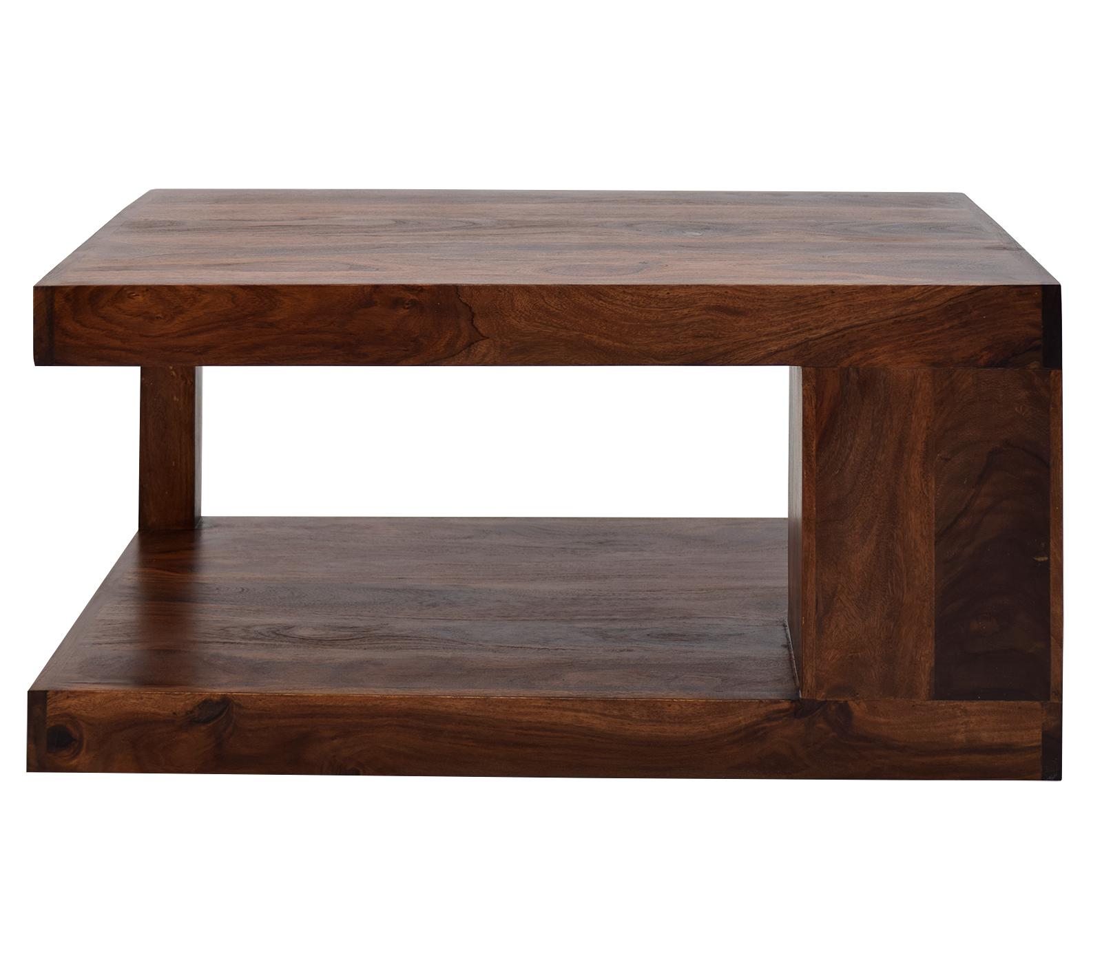 couchtisch massiv sheesham jupiter 90 x 60 cm. Black Bedroom Furniture Sets. Home Design Ideas