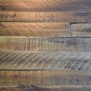 Sideboard Tati 200cm Akazie Massiv Braun Vintage – Bild 9