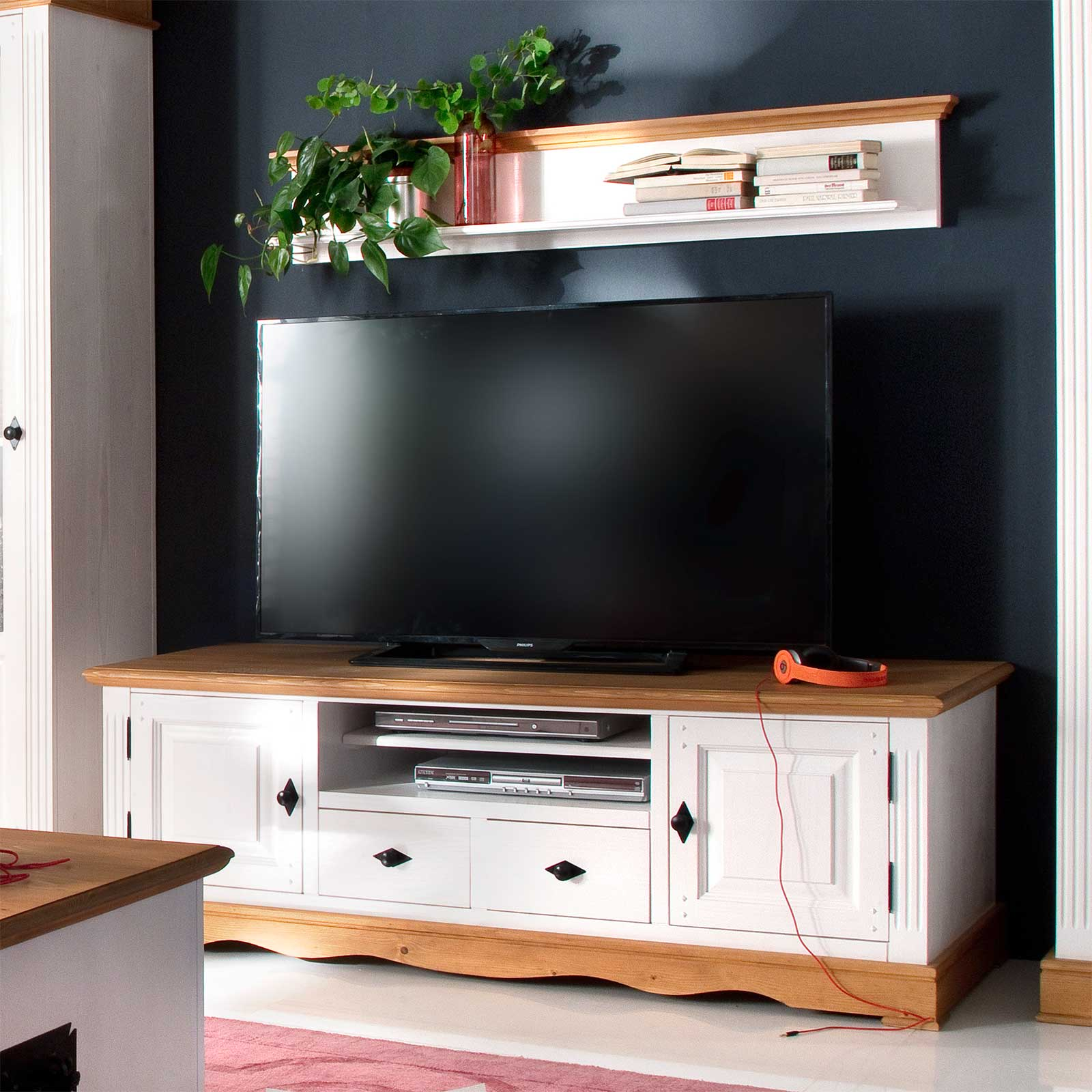 tv mbel 100 cm breit cm breit tv bank weiss lack bank in tv mobel weiss gebeizt with tv mbel. Black Bedroom Furniture Sets. Home Design Ideas