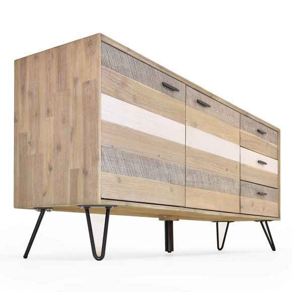 Sideboard Dalby Akazie Massiv 180cm Breit – Bild 6