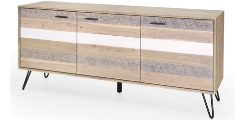 sideboard dalby akazie massiv 180cm breit. Black Bedroom Furniture Sets. Home Design Ideas