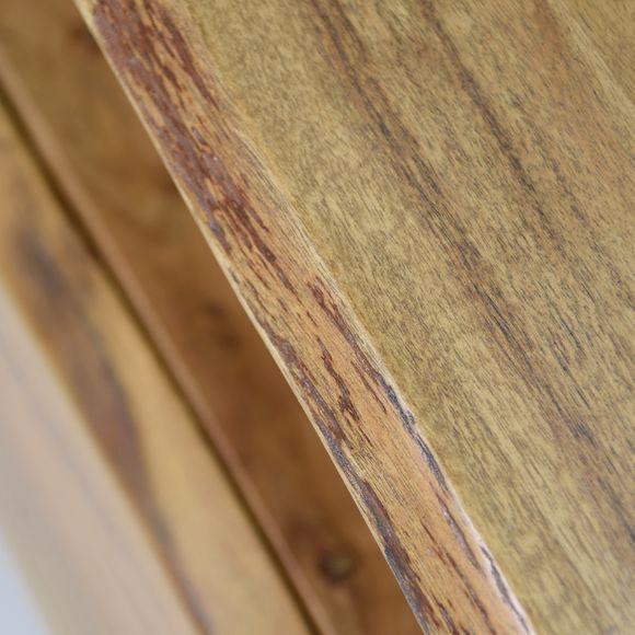 TV Lowboard Edge Akazie Massiv 115cm Breit – Bild 3