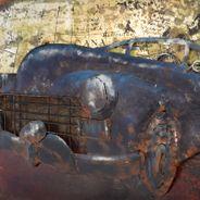3D Metallbild Oldtimer Wandbild 60 x 40 cm – Bild 3