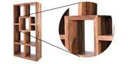 Bücherregal Sheesham Massivholz B90 x T35 x H180 cm – Bild 5