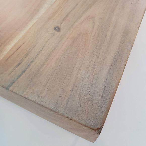 Couchtisch Bera in Akazie Massivholz 130 x 60 x 48 cm mit Metallgestell – Bild 6