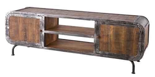 Lowboard Saigon aus Mangoholz und Metall 180 x 60 cm – Bild 7