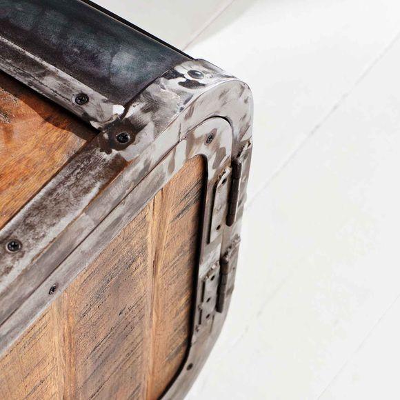 Lowboard Saigon aus Mangoholz und Metall 200 x 55 cm – Bild 6