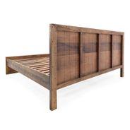 Bett Kumasi aus Massivholz in Antik Braun 158 x 213 cm – Bild 4