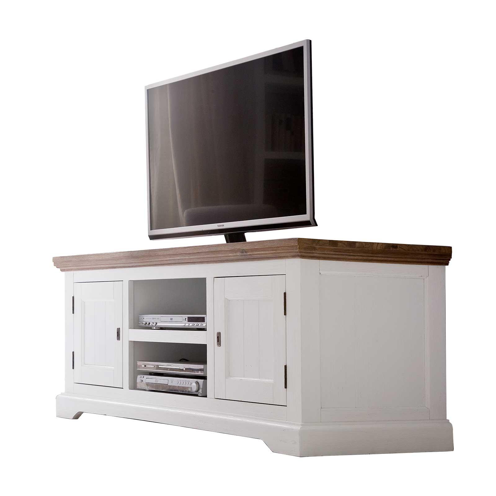 tv-lowboard-fleur-155cm-breit-in-wei-braun