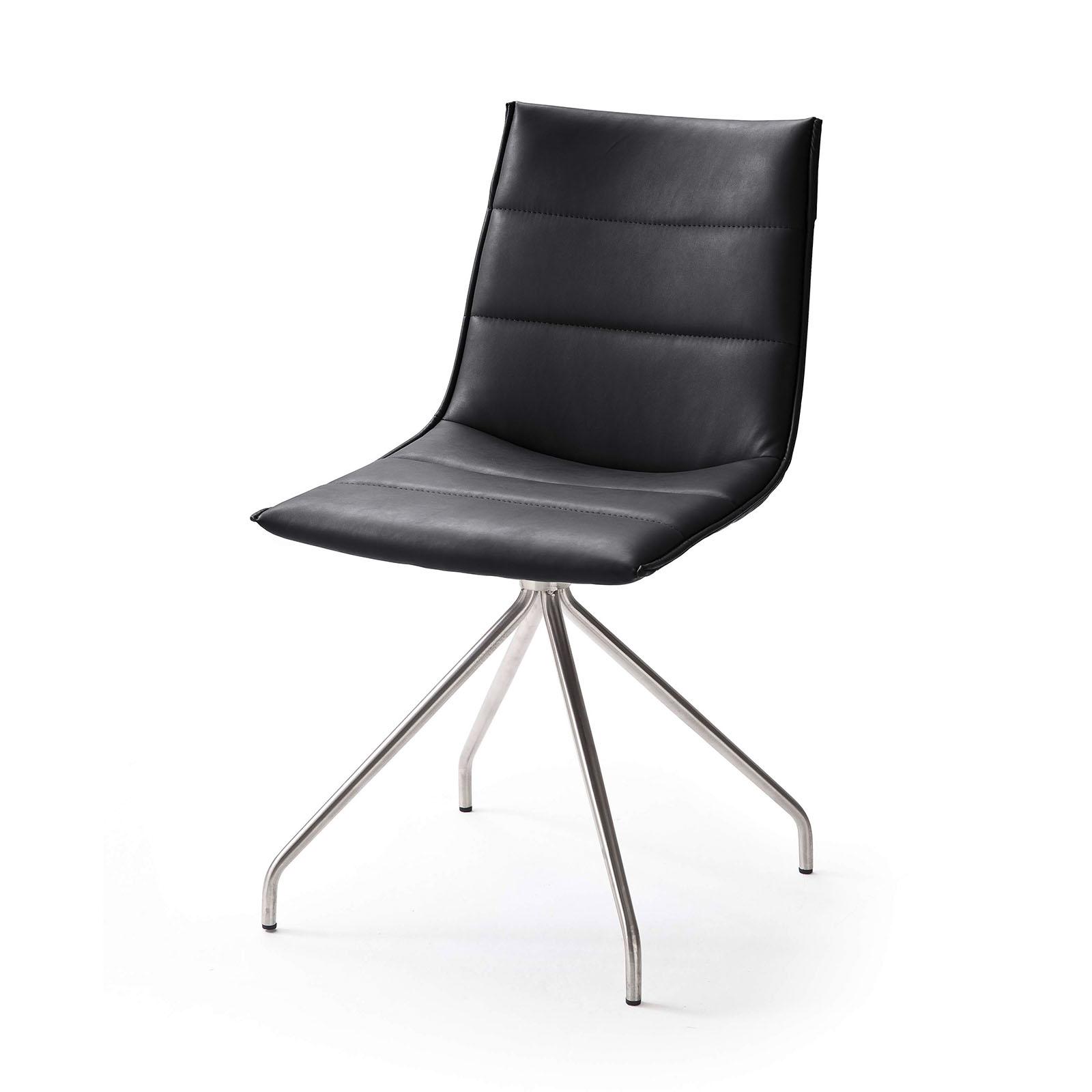 4 Fuß - Stuhl Alessia B in Kunstleder  im 2er Set