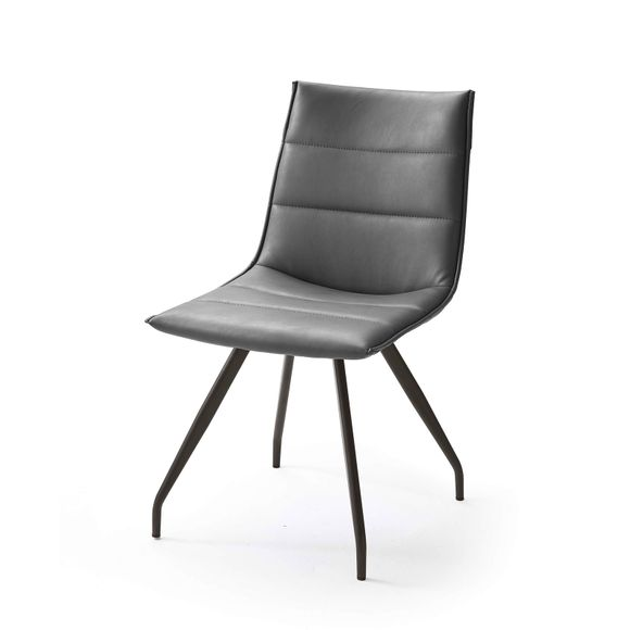 4 Fuß - Stuhl Alessia B in Kunstleder  im 2er Set – Bild 12