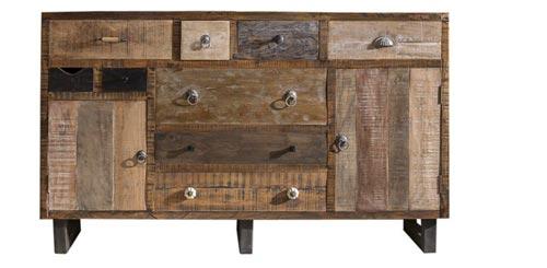 Sideboard Priya 150 cm Breit im unikaten Wohnstil