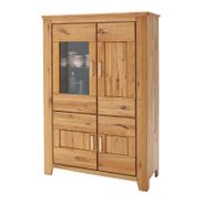 Highboard Nevada 112 x 160 cm Wildeiche Massiv – Bild 1