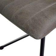 Stuhl Luna in Beige mit Kufengestell 2er Set – Bild 4