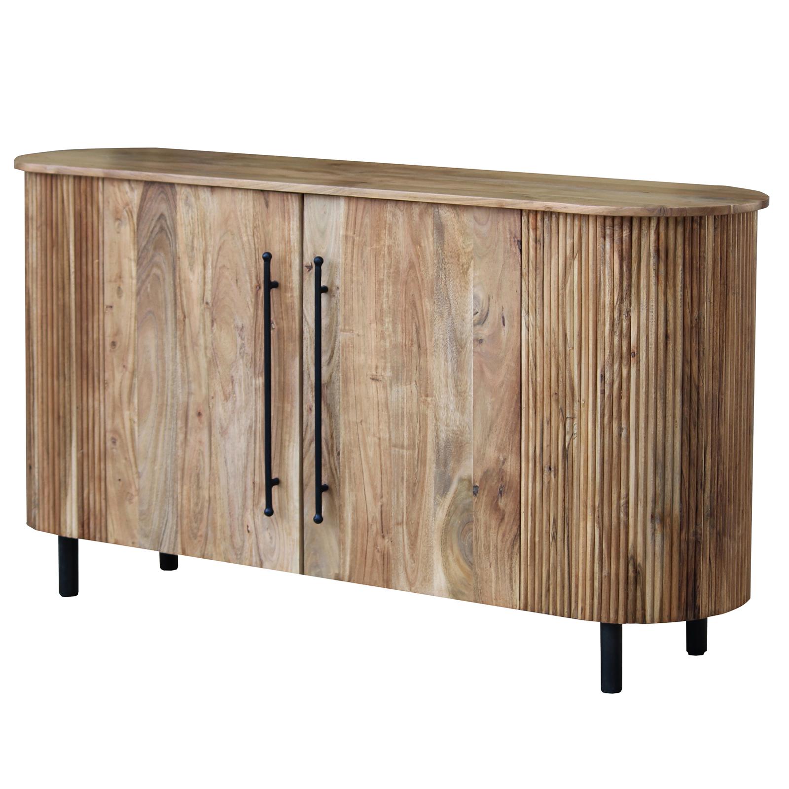 Sideboard Runda aus Akazie Massivholz - 160 cm