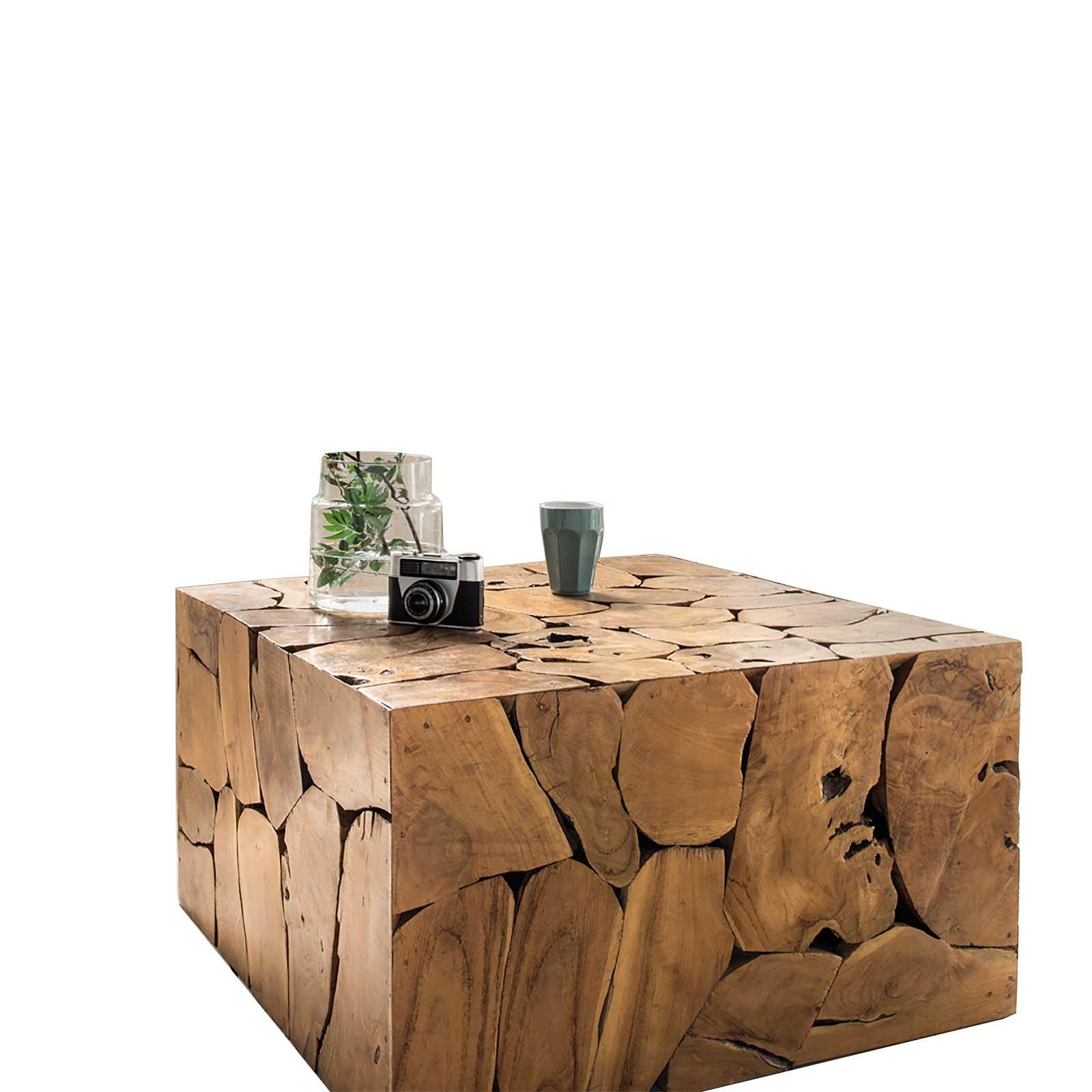 Couchtisch Wurzel aus Massivholz 60 x 110 x 45 cm