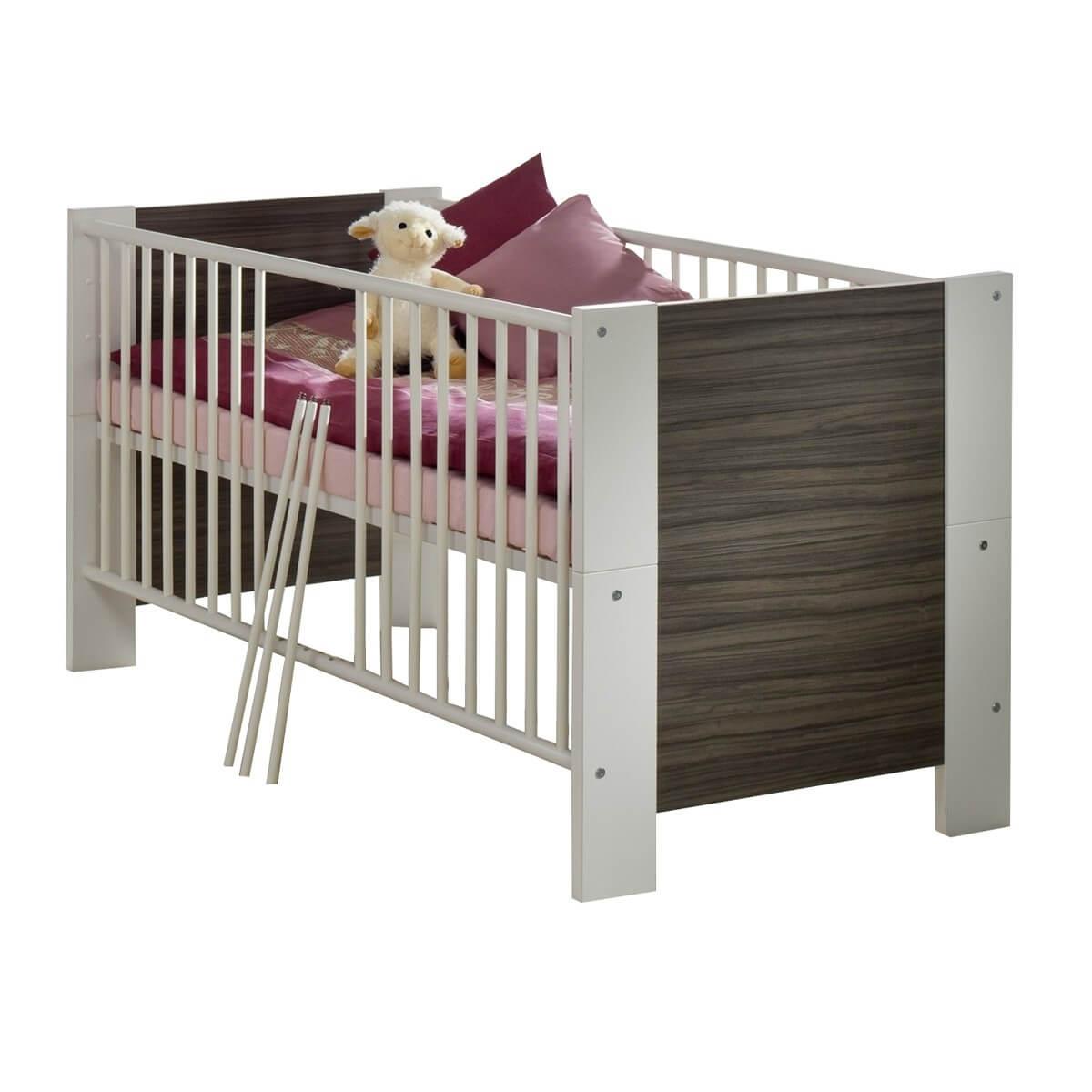 Mogemo Kinderbett in Weiß matt  Noce-Milano | 1555100293726