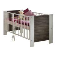 Kinderbett Sonja Weiß matt / Noce-Milano – Bild 1