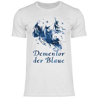 a68 Herren T-Shirt Dementor der Blaue