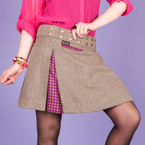Hot Cookie 6 Tweed Short
