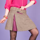 Hot Cookie 6 Tweed Short 001