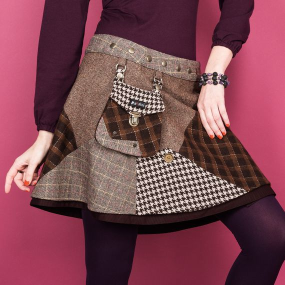 Hot Cookie 9 Tweed Long