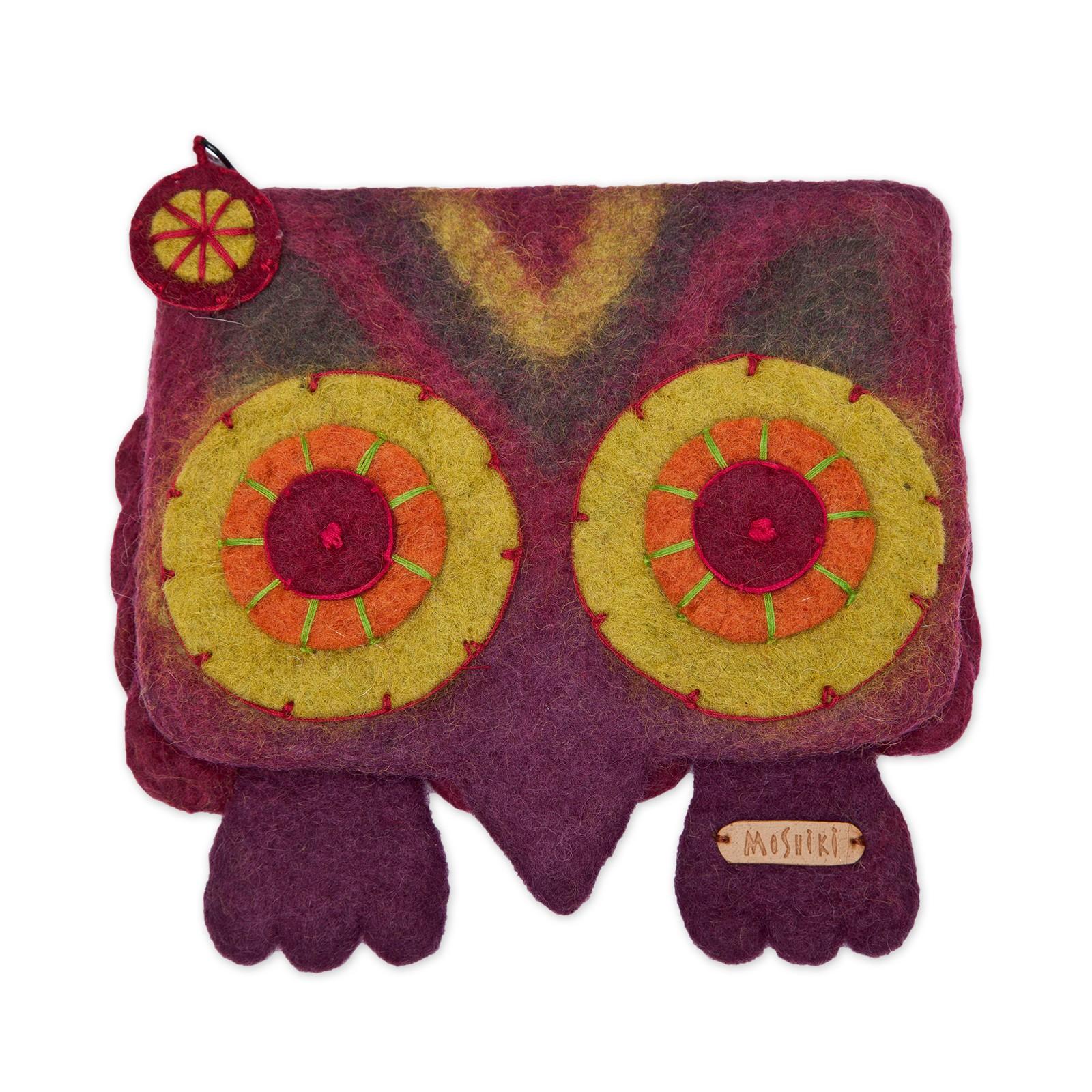 Hedwig felt purse – Bild 1