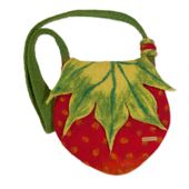 Strawberry Filztasche 001