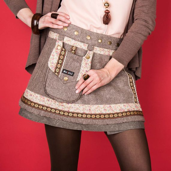 Hot Cookie 11 Tweed Short