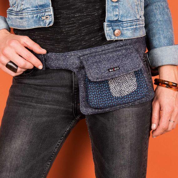 Side Pocket 12 Tweed