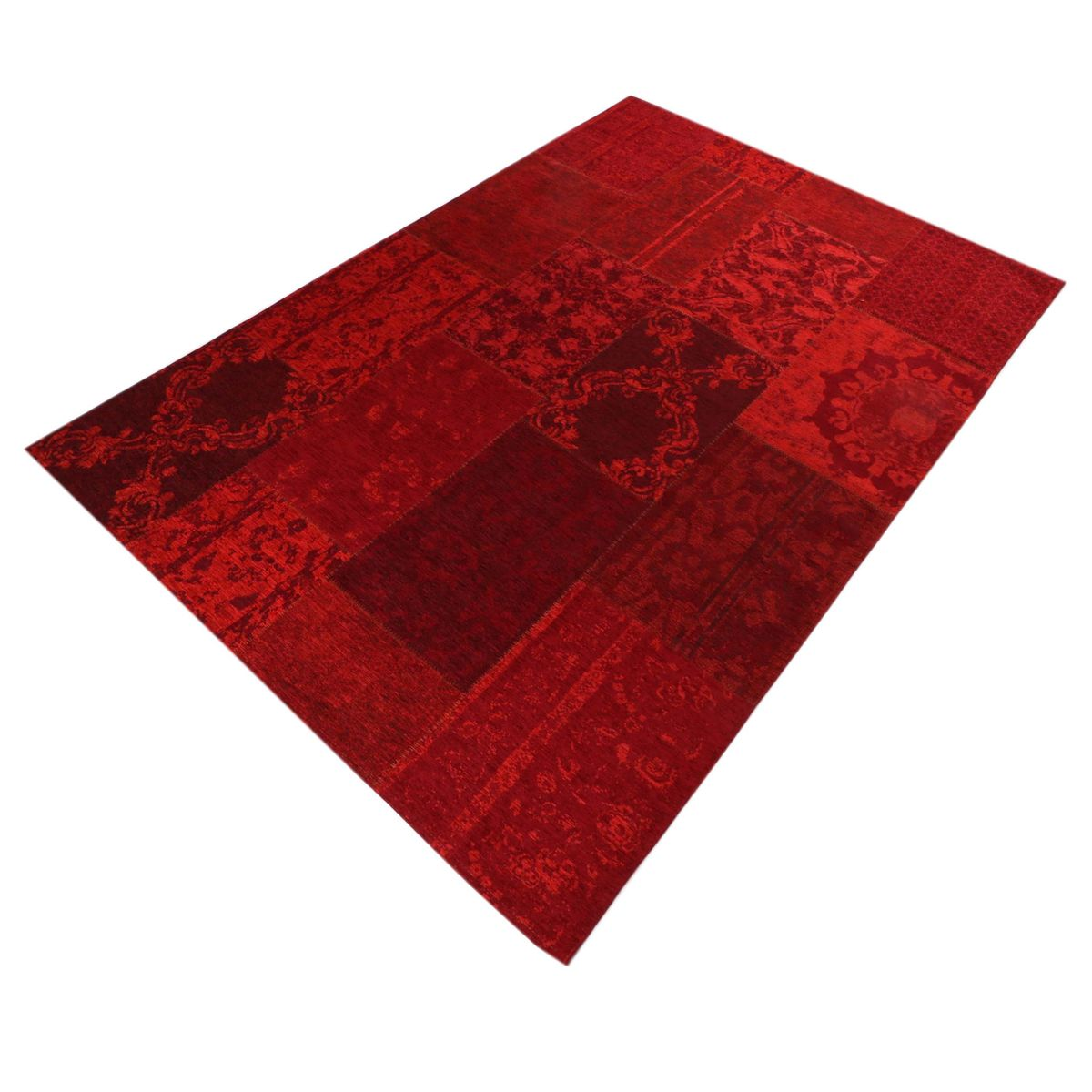 Flachgewebe Teppich Antika Patch Mix