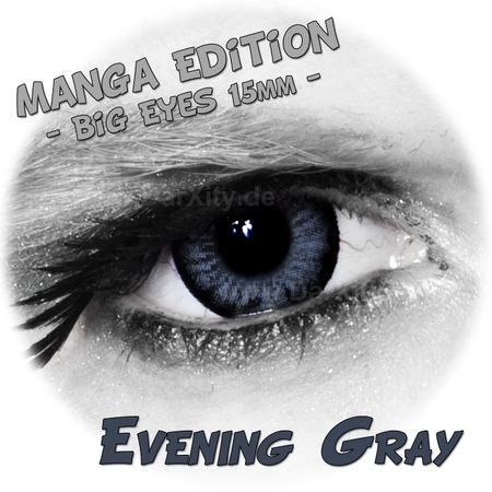Evening Gray - Big Eyes - Manga Edition