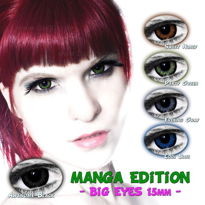 Manga Edition - BigEyes Kontaktlinsen