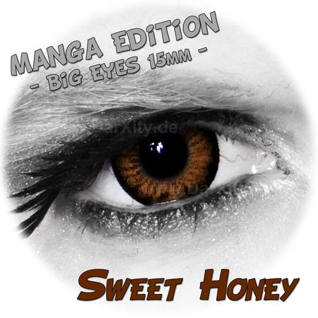 Sweet Honey - Big Eyes - Manga Edition
