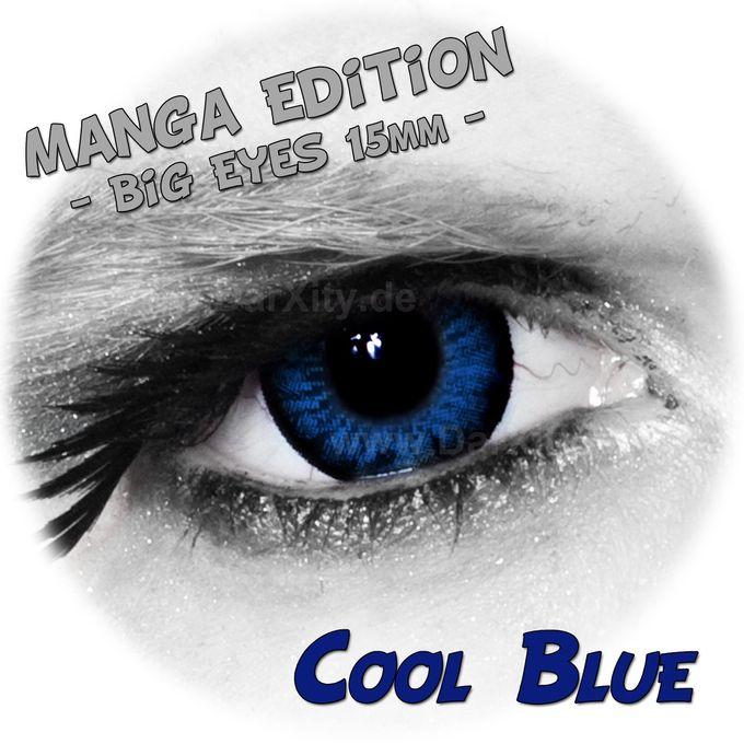 Cool Blue  - Big Eyes - Manga Edition