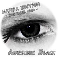 Awesome Black - Big Eyes - Manga Edition