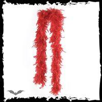 Flauschige Rote Federboa – Bild 1