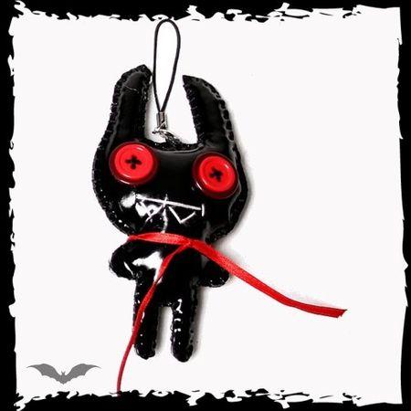 Crazy - Schlüsselanhänger, Voodoopuppe als Alien